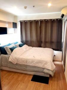 For RentCondoBangna, Lasalle, Bearing : Condo for rent, Lumpini Megacity Bangna, size 26 square meters, near Mega Bangna