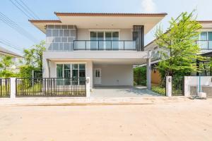 For SaleHouseMahachai Samut Sakhon : 2 storey detached house for sale (new house, 1st hand) with special discount with free gifts