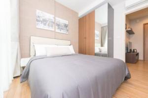 For RentCondoOnnut, Udomsuk : A21-115 Condo for rent, is a low rise condo, 7 floors, 2 building, Hasu Haus, Sukhumvit 77, 30 sqm., near BTS On Nut.