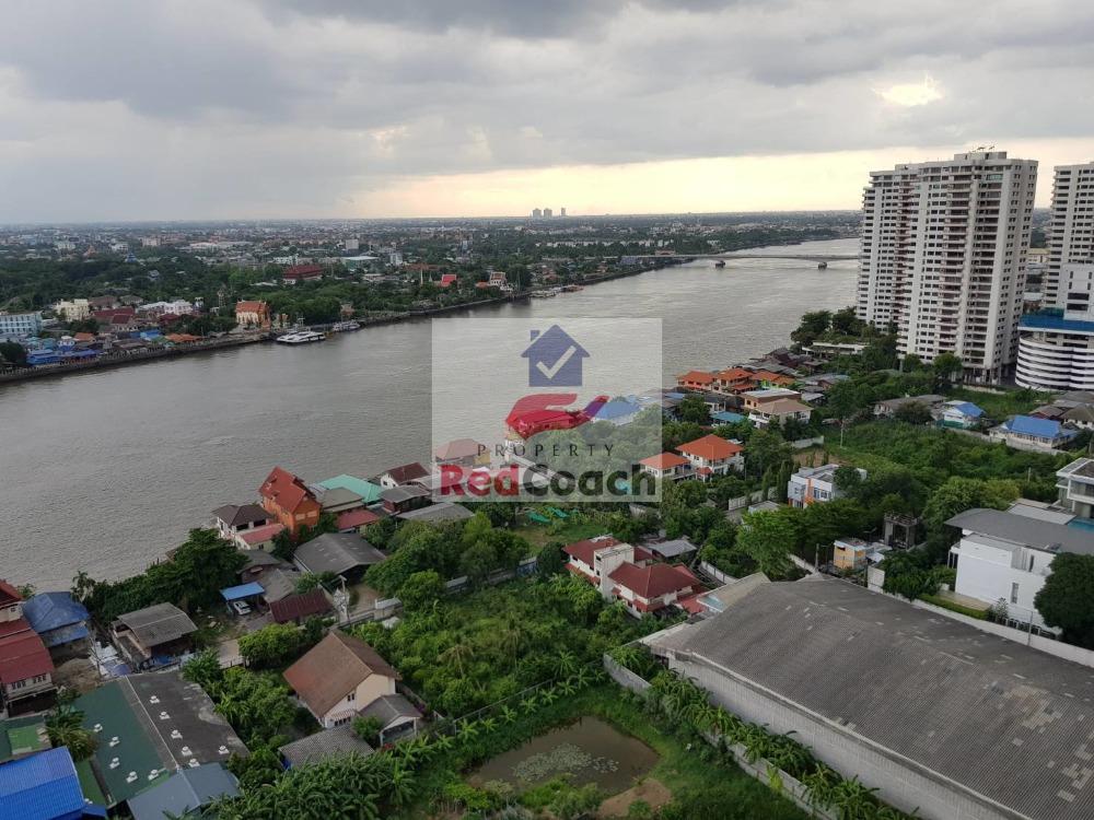 For SaleCondoRattanathibet, Sanambinna : Condo for sale, Lumpini Ville, Phibunsongkhram Riverview, Building A, 23rd floor, river view room.