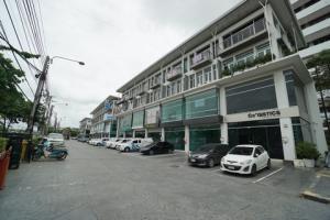 ขายตึกแถว อาคารพาณิชย์อ่อนนุช อุดมสุข : ขายด่วน โฮมออฟฟิศ  H-Cape อ่อนนุช สุขาภิบาล 2 ขนาด 4 ชั้น ติดซอยถนนสุขาภิบาล 2 ใกล้สนามบินสุวรรณภูมิ