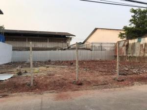 For SaleLandRama 2, Bang Khun Thian : Urgent sale, empty land 85 square meters, Tha Kham Soi 16, filled, suitable for building a house, commercial building