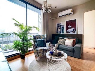 For SaleCondoOnnut, Udomsuk : Urgent sale 2 bedroom unit with nice furnishing