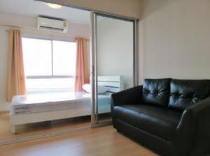 For RentCondoBangbuathong, Sainoi : ให้เช่า คอนโด ห้องใหม่ plum condo บางใหญ่ station 23 ตรม. ตึกA ชั้น4 เฟอร์และเครื่องใช้ไฟฟ้าครบ พร้อมเข้าอยู่.