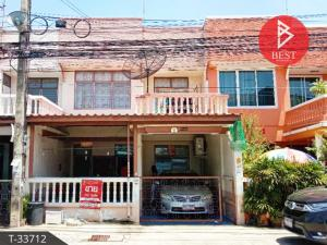 For SaleTownhouseVipawadee, Don Mueang, Lak Si : Townhouse for sale Yu Charoen-Boonma Village, Thoet Rachan 43, Bangkok