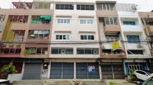 For SaleShophousePinklao, Charansanitwong : Quick sale, commercial building, 3.5 floors, 39 sq.wa., Soi Borommaratchachonnani 6