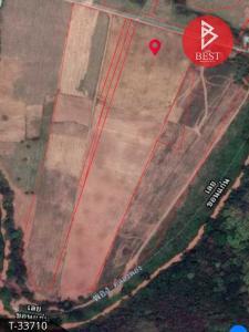 For SaleLandLoei : Land for sale, area of 30 rai, next to the main road, Phu Kradueng, Loei.