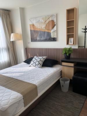 For RentCondoRamkhamhaeng, Hua Mak : For rent Condo U Delight @ Hua Mak 30 sqm. Floor 9, 1 bedroom, 1 bath, fully electricity, 11,000 baht