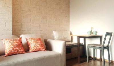 For RentCondoRamkhamhaeng, Hua Mak : For rent Condo U Delight @ Hua Mak, 30 sqm, 19th floor, 1 bedroom, 1 bathroom, fully electric, 11,000 baht