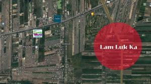 For SaleLandRangsit, Patumtani : Beautiful plot of land for sale, cheap price, along Lam Luk Ka Road, 15,000 baht per square wah.