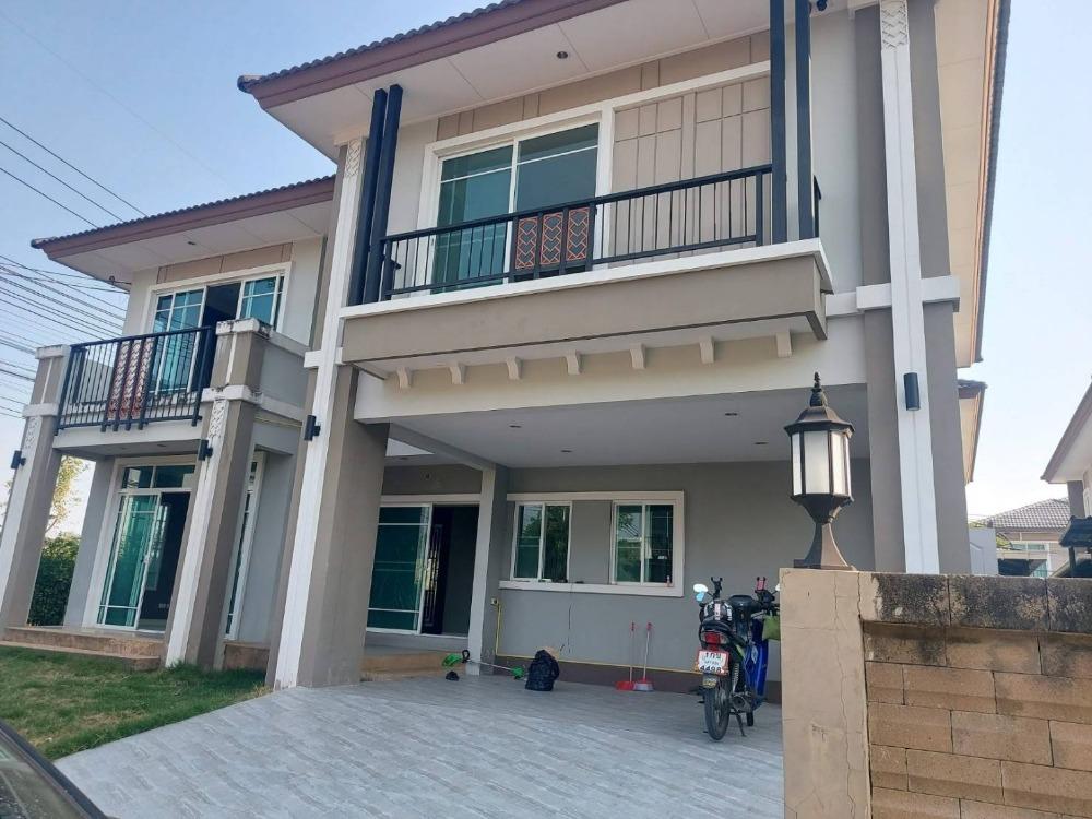 เช่าบ้านนครปฐม พุทธมณฑล ศาลายา : บ้านใหม่ บิวอิ้นทั้งหลัง ไม่มีเฟอร์