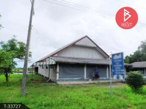 For SaleHouseChanthaburi : Single storey house for sale, 3 ngan, 12.0 sq.wa., Laem Sing, Chanthaburi, next to the main road.