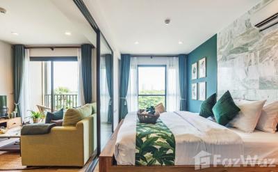 ขายคอนโดชะอำ เพชรบุรี : ขาย คอนโด 1 ห้องนอน ในโครงการ เรน ชะอำ U671028