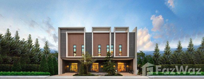 ขายบ้านเชียงใหม่ : ขาย ทาวน์เฮ้าส์ 4 ห้องนอน ในโครงการ อรสิริน วิลล์ ดอนจั่น U659866