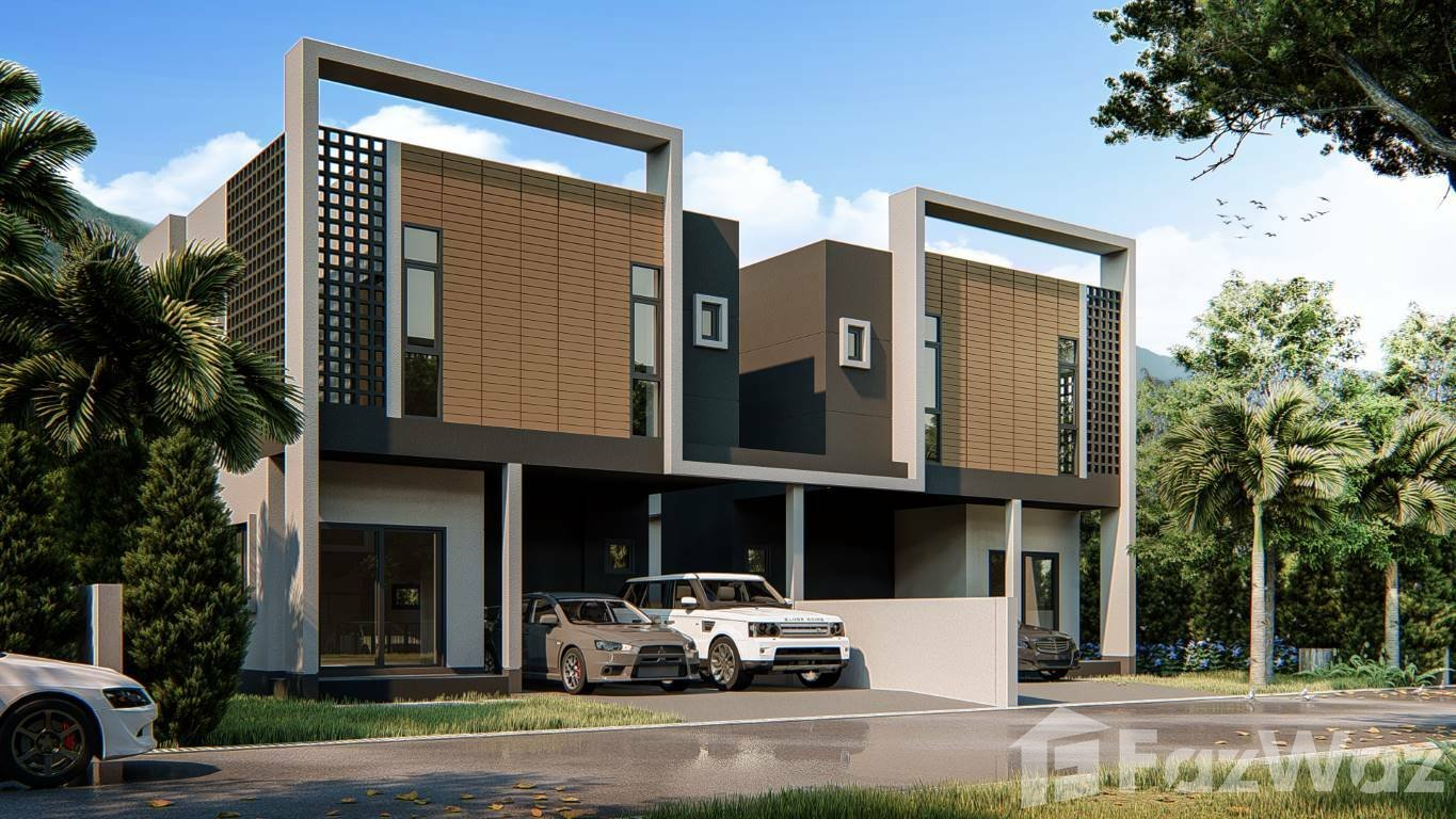 For SaleHouseChiang Mai : 3 Bedroom Townhouse for sale at Ornsirin Ville Donchan  U908726