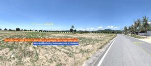 For RentLandPattaya, Bangsaen, Chonburi : Long-term rent, Na Wang land, area of 26 rai, near the motorway road, Bang Mung, Chonburi.