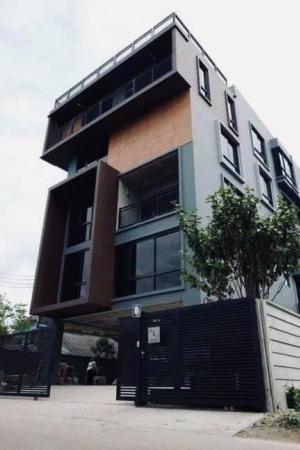 ขายตึกแถว อาคารพาณิชย์แจ้งวัฒนะ เมืองทอง : Sale New Modern House (Nonthaburi)