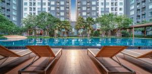 For RentCondoRattanathibet, Sanambinna : Condo for rent Aspire Rattanathibet ready to move in