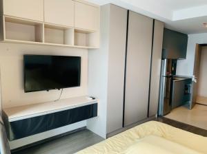 For RentCondoOnnut, Udomsuk : For rent Ideo Sukhumvit 93 Studio, beautiful room, high floor, great view, only 10,000 baht.