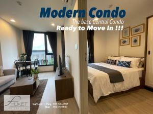 For RentCondoPhuket, Patong : Modern luxury Condo The Base Central For Rent !