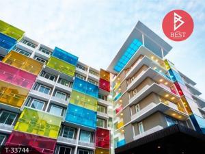 For SaleCondoRatchadapisek, Huaikwang, Suttisan : Condo for sale, The Colory Vivid, near Huai Khwang MRT.