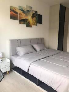 เช่าคอนโดสำโรง สมุทรปราการ : นิชโมโน @ บีทีเอส ปู่เจ้า - 1 ห้องนอน 1 ห้องน้ำ ขนาด 35 ตรม ชั้น 3 เเละ 4 ได้โปรด @ 0631645447
