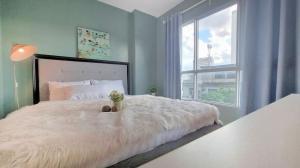 For RentCondoKhlongtoei, Kluaynamthai : 🔥Very urgent, beautiful room, fully furnished!!! 📌 Aspire Rama 4 📌