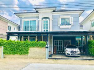 For SaleHouseLadprao, Central Ladprao : Twin houses for sale, Golden Neo, Ladprao, Kaset Nawamin, English style, 37 sq m, beautiful decoration, new house, built-in, good value, good price, location, Ladprao-Kaset Nawamin