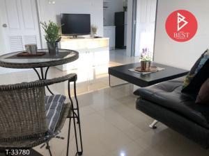 For SaleCondoPattaya, Bangsaen, Chonburi : Condo for sale with tenant, Siam City 3, Sriracha, Chonburi.