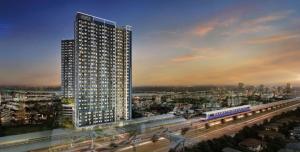 Sale DownCondoSamrong, Samut Prakan : Aspire Erawan Prime New Condo 0 Zero Meters from BTS Chang Erawan!