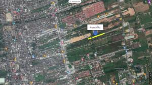 For SaleLandNakhon Si Thammarat : (Owner) Land for sale behind Centara Project, Mueang Nakhon Si Thammarat District, Pak Nakhon Subdistrict, between Therd Phrakiat Road and Khu Kwang Road.