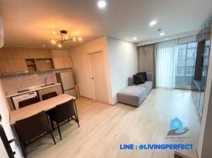 For RentCondoKasetsart, Ratchayothin : ✅ For rent ✅ Elio del moss condo, 2 bedrooms, large size, near Kasetsart University and BTS station