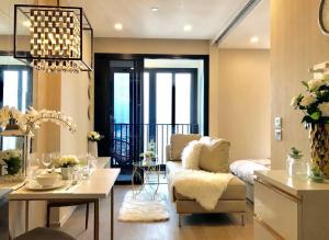 For RentCondoSukhumvit, Asoke, Thonglor : Ashton Asoke 1 Bedroom 34 Sq.m. High Floor.