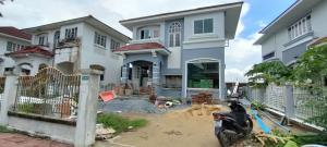 ขายบ้านบางแค เพชรเกษม : ขายบ้านเดี่ยว วรารมย์ 81 สวยใหม่🏘️ ตกแต่งใหม่ยกหลัง
