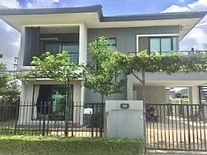 For RentHouseRangsit, Patumtani : Sell or rent Delight Don Mueang - Rangsit, 2 storey detached house with furniture.