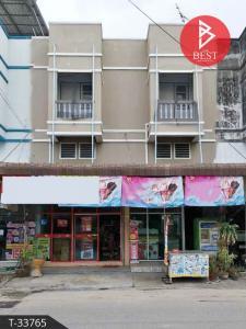 For SaleShophousePattaya, Bangsaen, Chonburi : Commercial building for sale, 2 booths, Soi Ban Suan - Setthakit 30, Nong Ri, Chonburi.