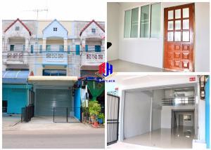 For SaleShophouseKorat KhaoYai Pak Chong : Commercial building for sale at Ban Suan Koh intersection. Suranarai Soi 13, near Central Korat, Mittraphap Road