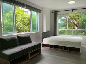 ขายคอนโดบางนา แบริ่ง : ห้องมุม สวยๆ กับวิว สวนแบบธรรมชาติอารมณ์เหมือนอยู่บ้าน ดี คอนโด แคมปัส รีสอร์ท บางนา ( ABAC บางนา)