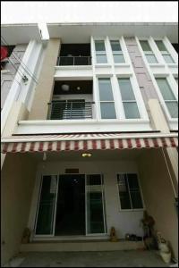 For RentHome OfficeLadkrabang, Suwannaphum Airport : For rent/sale, 3-storey home office, Klang Muang Village S-Sense On Nut-Wongwaen 3 bedrooms 3 bathrooms