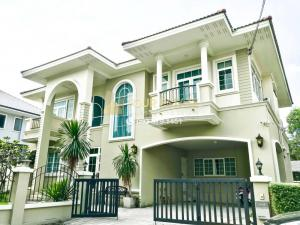 For SaleHouseVipawadee, Don Mueang, Lak Si : For sale!! Luxurious detached house, corner house, and the largest in the Village!! - Areeya Don Mueang Songprapha - 138 sq m. 5 bedrooms (no furniture)