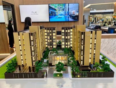 ขายคอนโดบางนา แบริ่ง : ขายสัญญา คอนโด NUE Noble Centre Bangna ติดเซ็นทรัลบางนาและบิ๊กซี 1 ห้องนอน 24.30 ตร.ม. ชั้น 2
