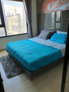 For RentCondoRama9, RCA, Petchaburi : Very urgent for rent, the room is leaked, beautiful decoration, very good price, Life Asoke