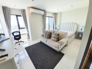 For RentCondoSukhumvit, Asoke, Thonglor : Condo for rent C Ekkamai BA21_07_127_05 beautiful room, electrical appliances. Fully furnished, price 59,999 baht