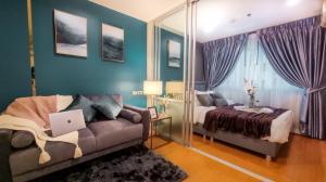 For SaleCondoBangna, Lasalle, Bearing : Beautiful room for sale, Lumpini project, Mega City Bangna, near Mega Bangna