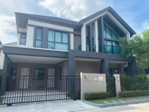 For SaleHouseRama9, RCA, Petchaburi : ขายบ้าน 2 ชั้น โครงการ Bangkok Boulevad rama 9