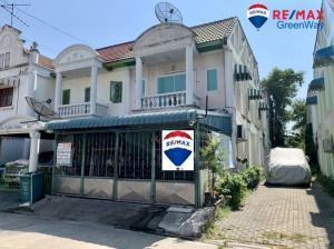 For SaleTownhouseMahachai Samut Sakhon : Townhouse for sale in Rama 2, Mahachai, Mueang Mai.