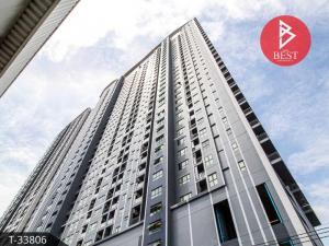 For SaleCondoSamrong, Samut Prakan : Sell/Rent Condo Ideo Sukhumvit 115, next to BTS Pu Chao.