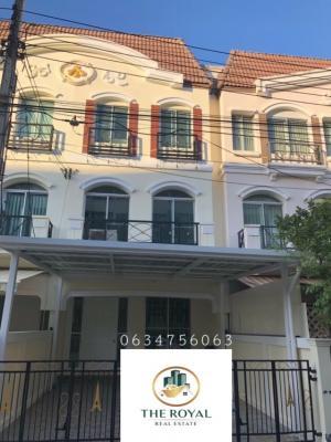 For RentTownhouseRamkhamhaeng, Hua Mak : 3-storey townhome for rent @Ramkhamhaeng-Rama 9, rent 18,000/month.