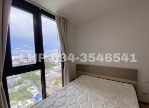 For RentCondoRama9, RCA, Petchaburi : Condo for rent, The Base Garden Rama9, 22nd floor, 2 year contract.