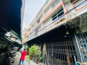 เช่าตึกแถว อาคารพาณิชย์เยาวราช บางลำพู : ตึกแถว 4 ชั้น 4 คูหา ซอยราชบพิธ 2 ใกล้ MRT สามยอด